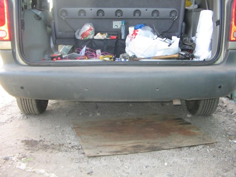Установка парктроника на додж караван